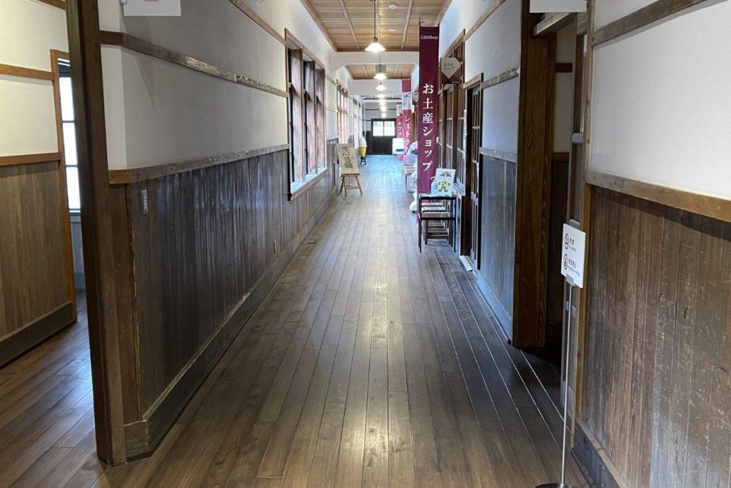 萩・明倫学舎 廊下