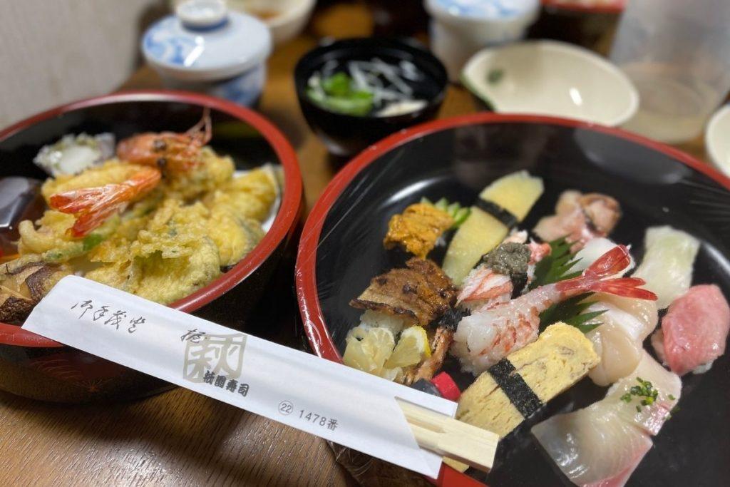祇園寿司 テイクアウト