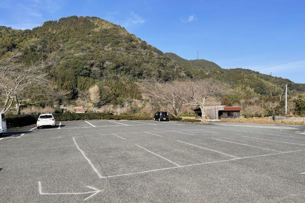 萩往還梅林園 駐車場