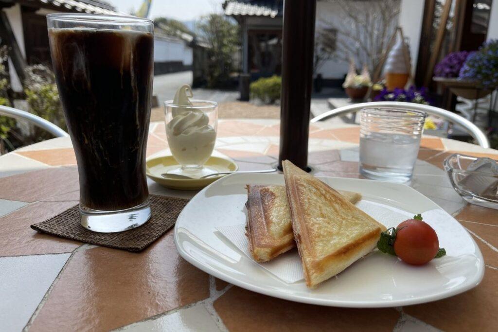 ホットサンド&アイスコーヒーセット