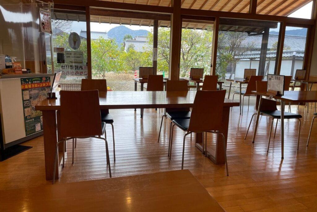 萩博物館レストラン 店内