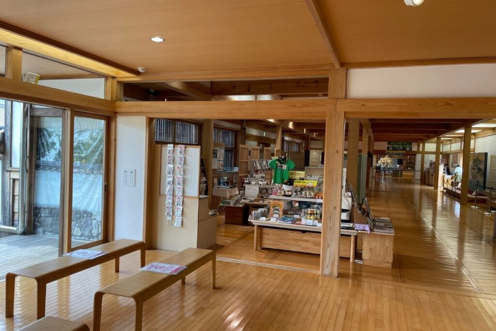萩博物館 館内