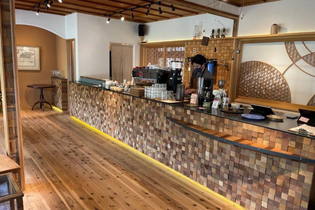 畔亭 コーヒーカウンター