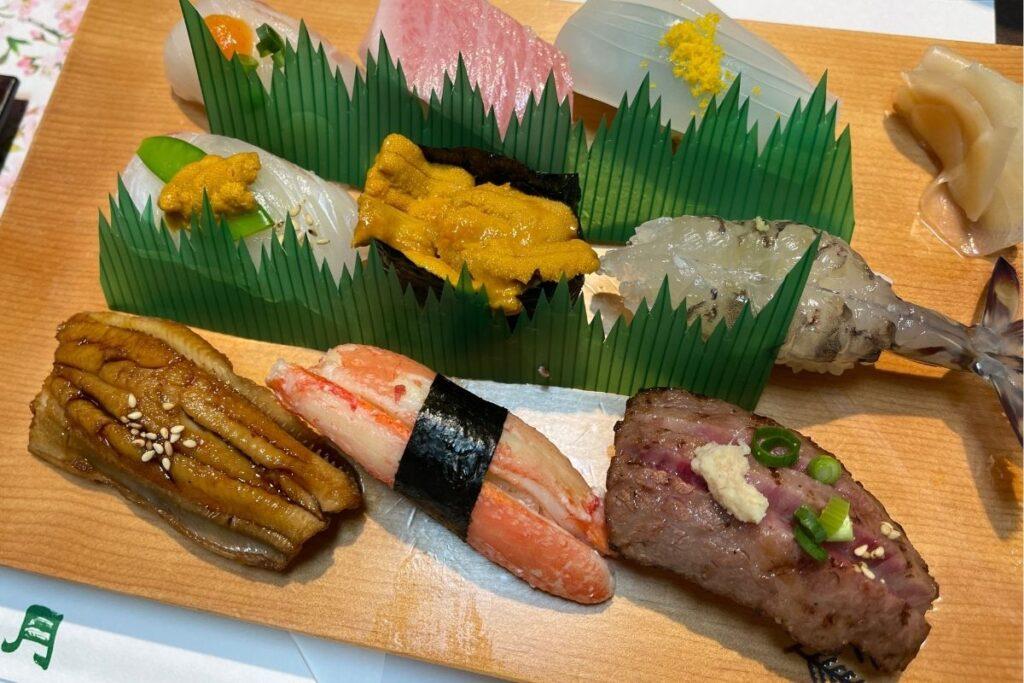 寿司 おまかせ(特)