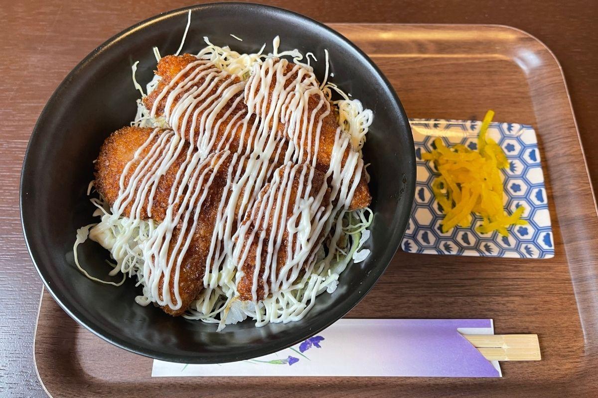 ただいま ソースかつ丼(700円)