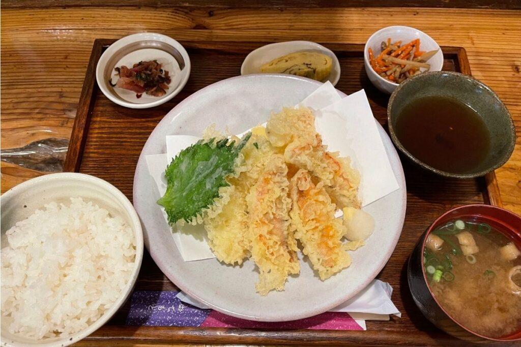 金太郎天ぷら定食