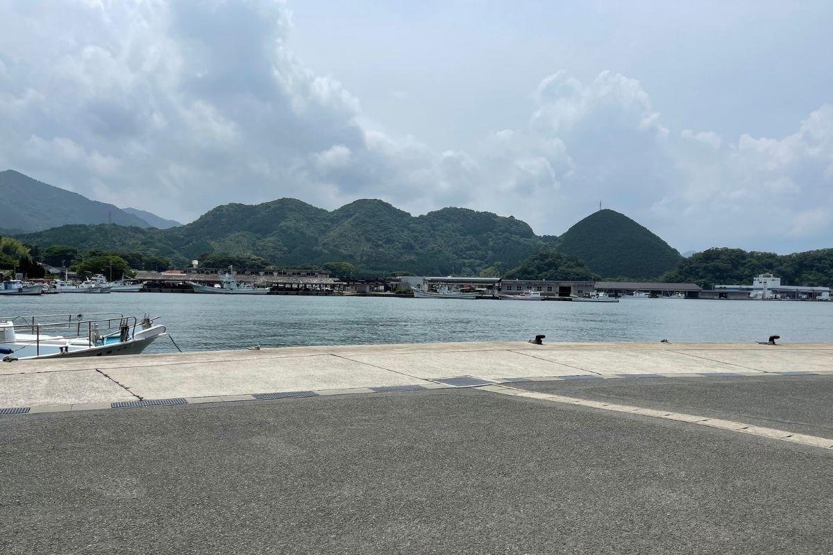 中小畑漁港
