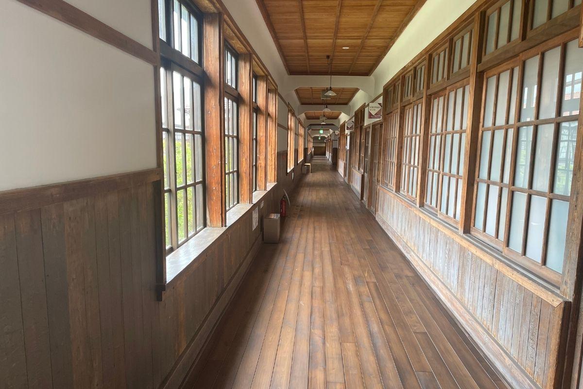 萩・明倫学舎 廊下2