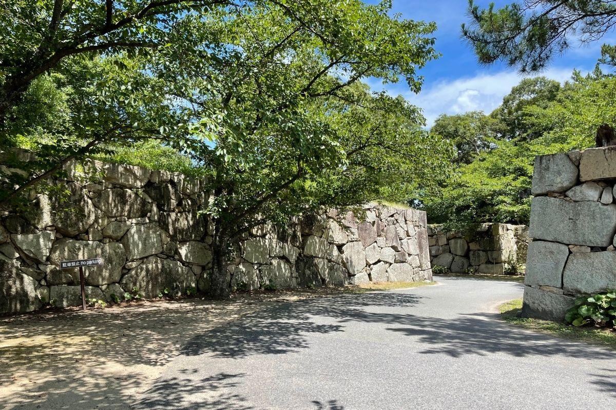 萩城跡 入口1