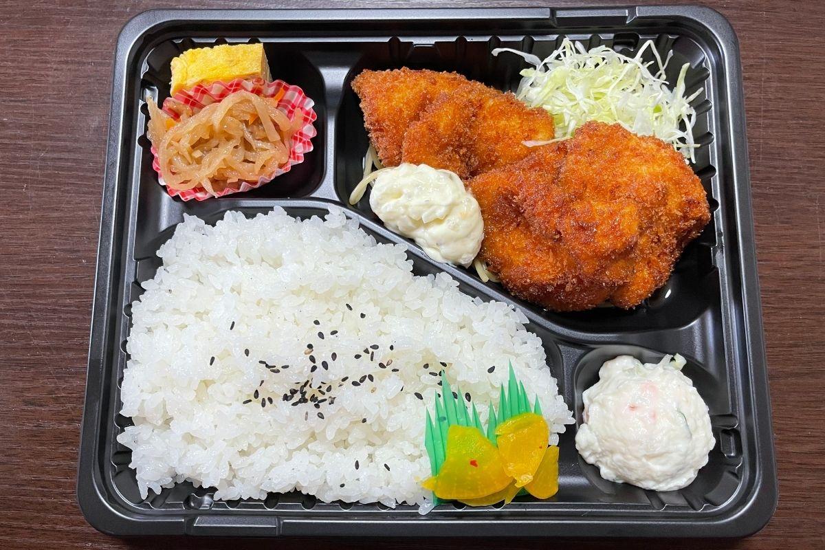 チキン南蛮弁当(500円)