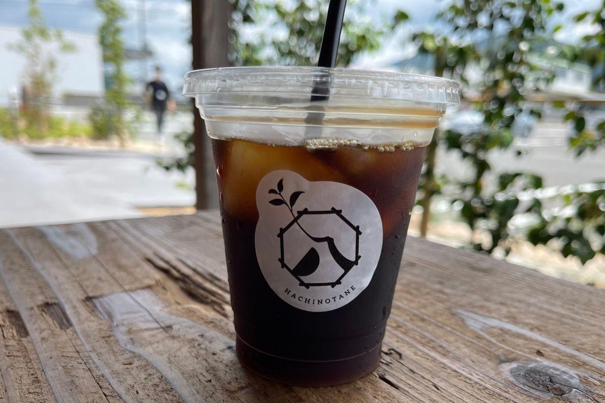 はちのたねブレンドコーヒー(475円)