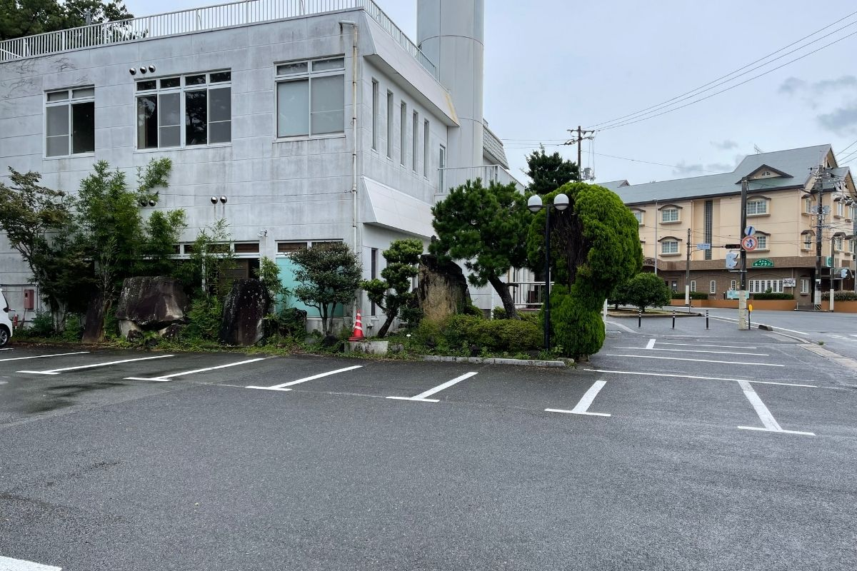 萩心海 駐車場