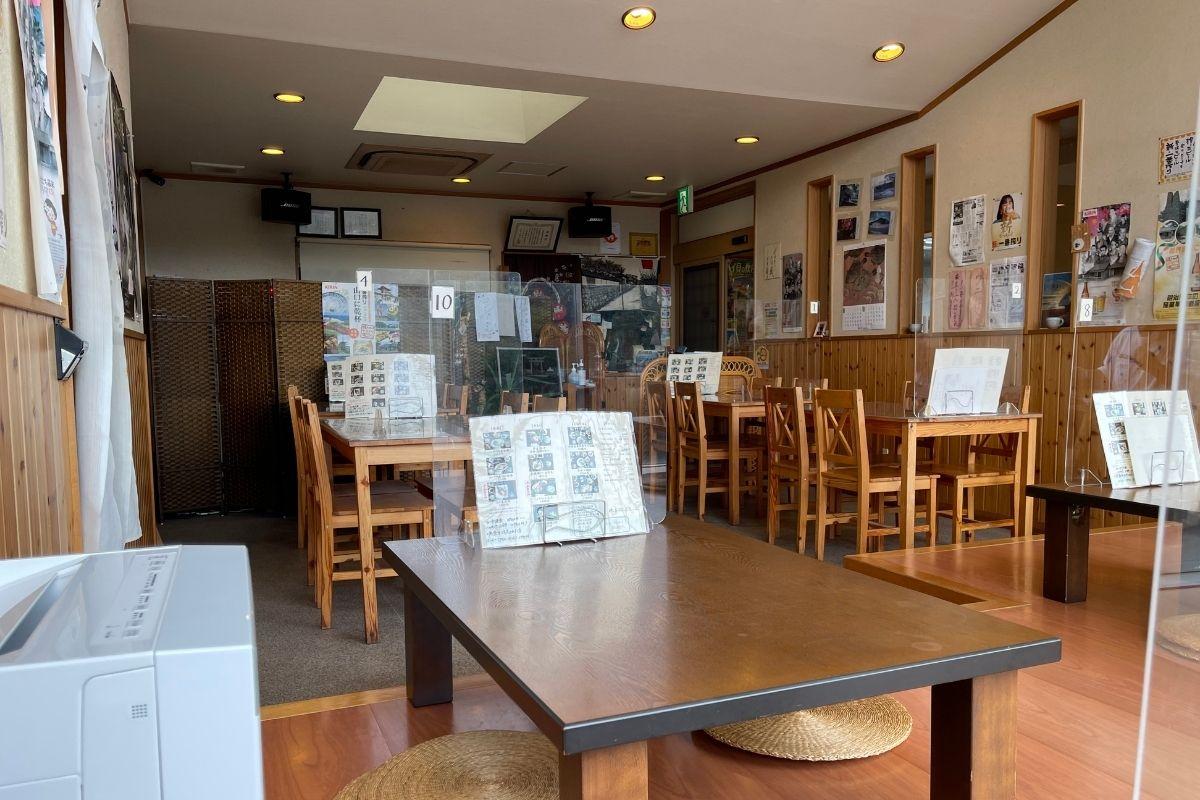 萩池々茶屋 店内2