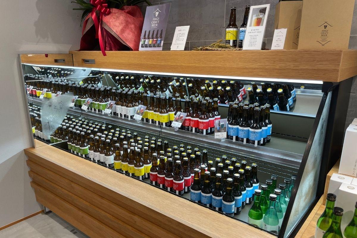 萩城下町ビール MURATA 店内3