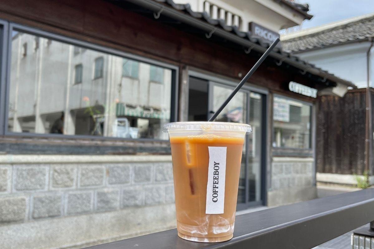 アイスコーヒー(453円)