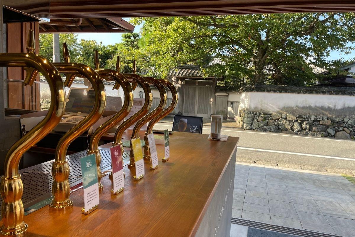 萩城下町ビール MURATA 店内1