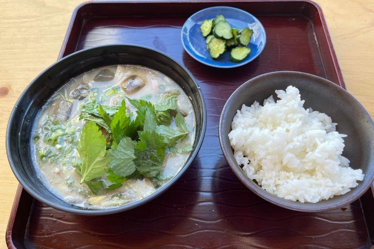 水ナマス定食(ヒラマサ)1(700円)