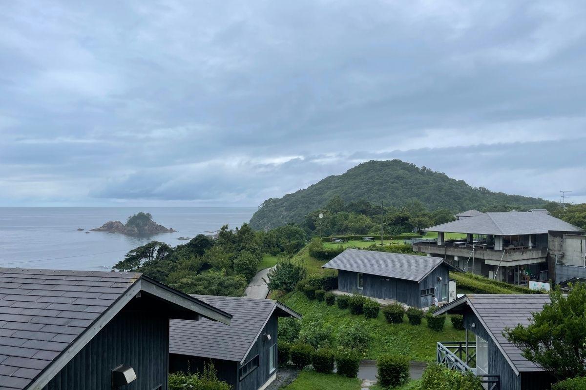 須佐湾エコロジーキャンプ場 景色2