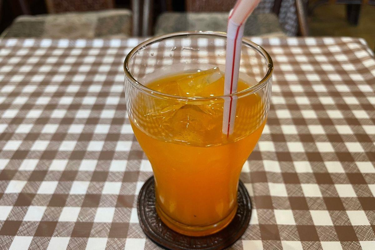 つくし オレンジジュース