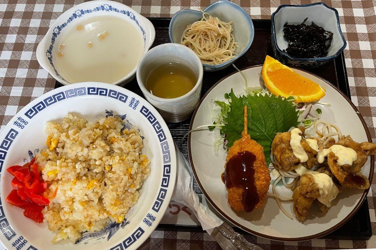 つくし 日替定食(850円)