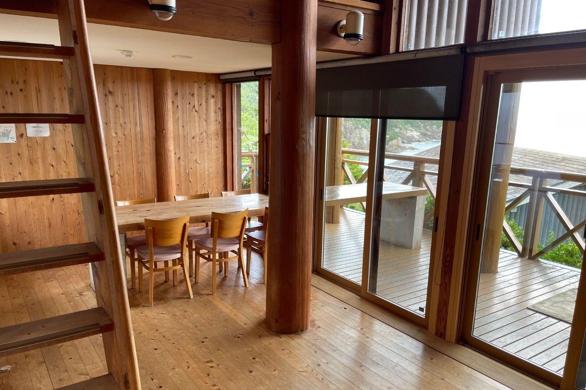 須佐湾エコロジーキャンプ場 室内1