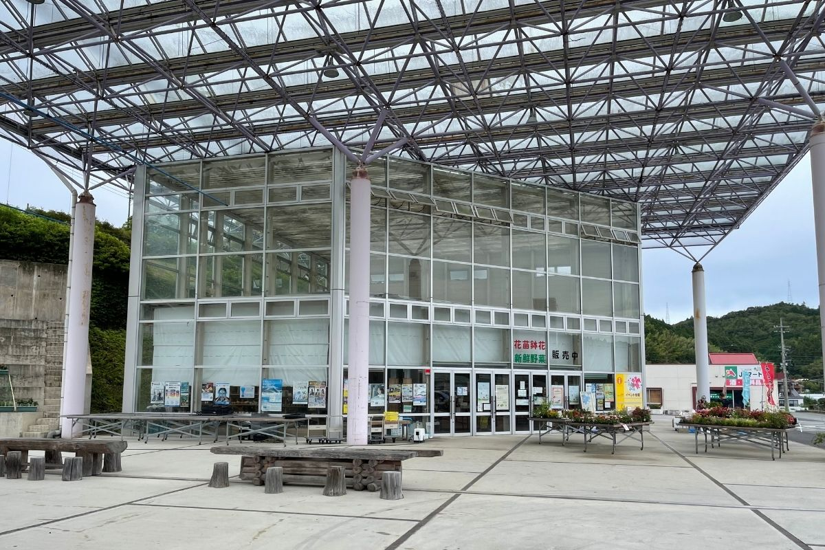 道の駅 ハピネスふくえ 直売所1