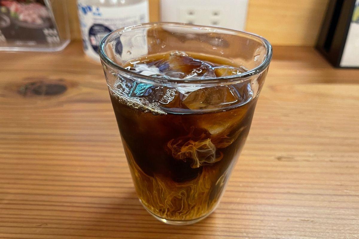 銀 食後コーヒー