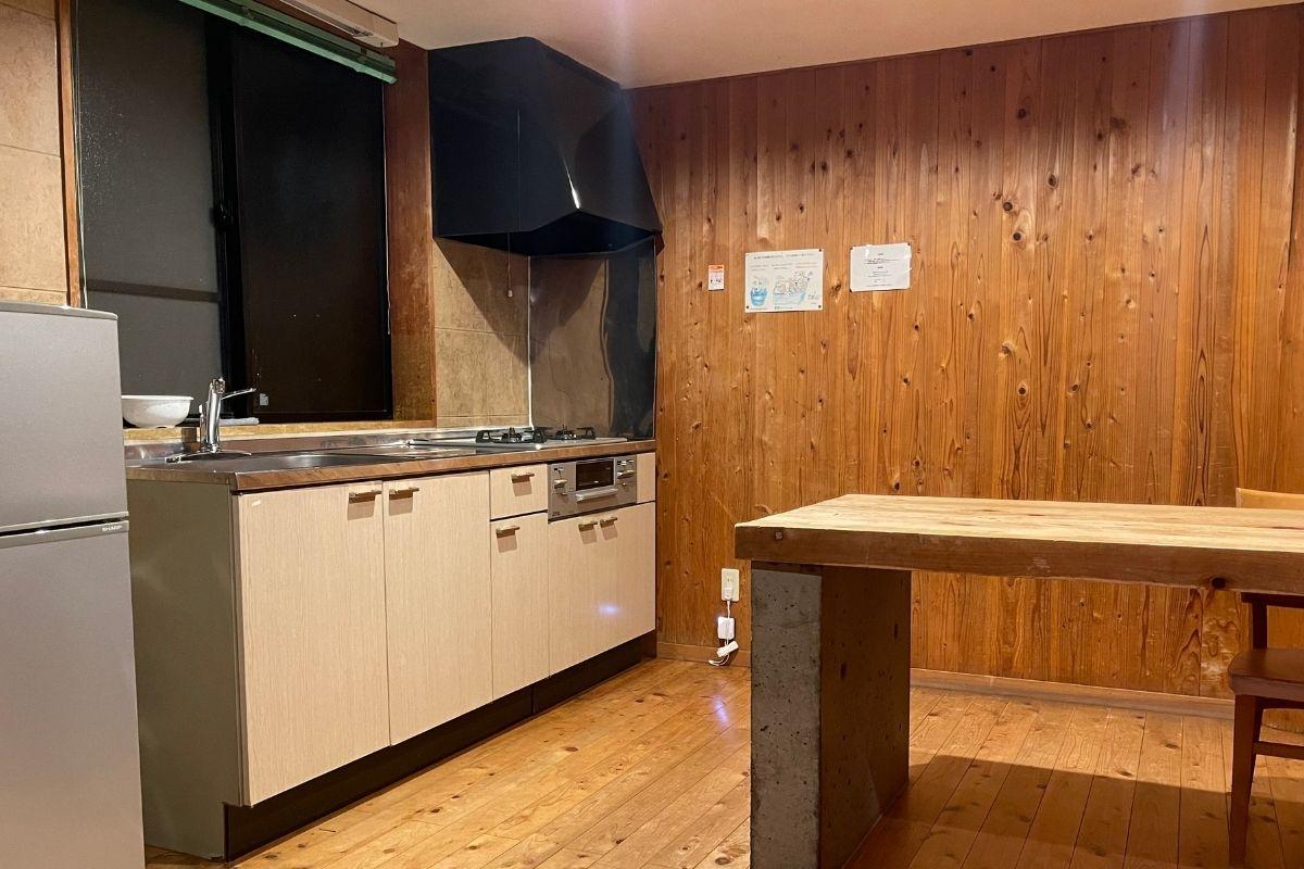 須佐湾エコロジーキャンプ場 キッチン1